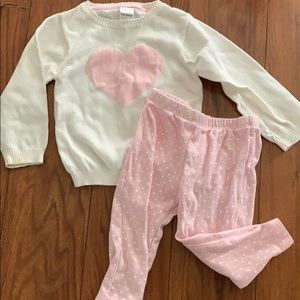 Baby pink outfit
